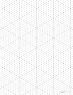 isometric grid preview