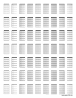 guitar chord diagrams letter preview